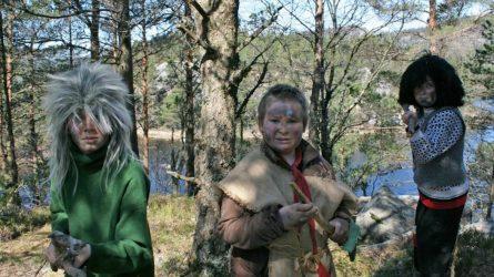 Tussar  og  troll  på  125-årsjubileum