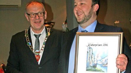 Kulturprisen  til  Morten  Hetland