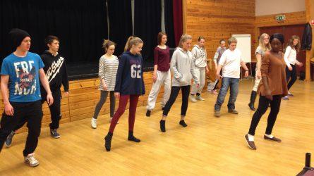 Dans,  drama  og  scenekamp